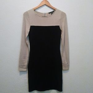Kenneth Cole Colorblock Sweater Dress